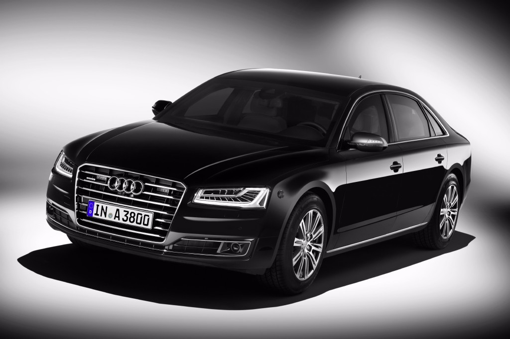 Audi A8 L Security, el lujo a prueba de balas