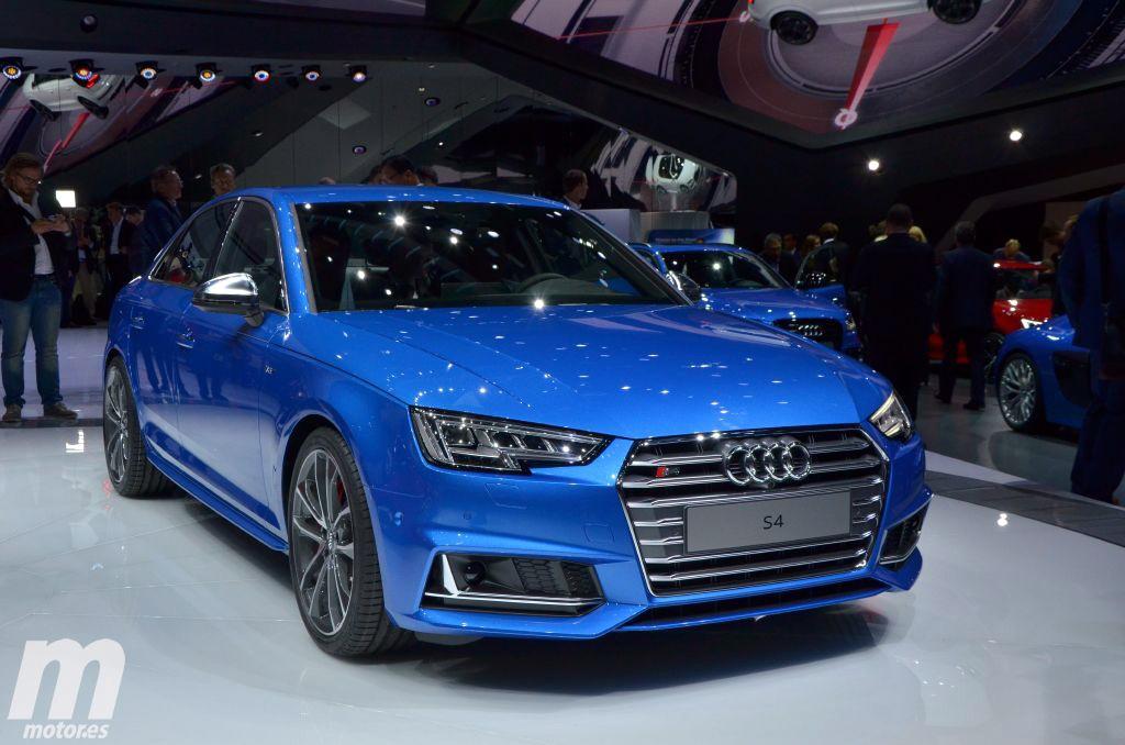 Audi S4 y S4 Avant 2016, más prestaciones con motor 3.0 V6 TFSI y 354 CV