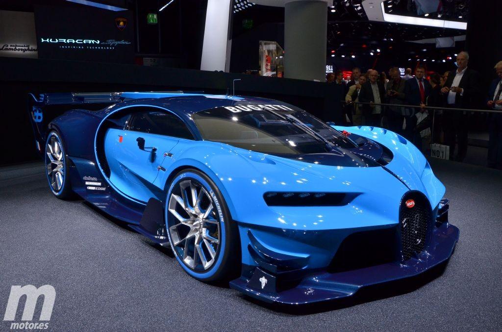 Bugatti Vision Gran Turismo, un prototipo que nos adelanta el nuevo Chiron