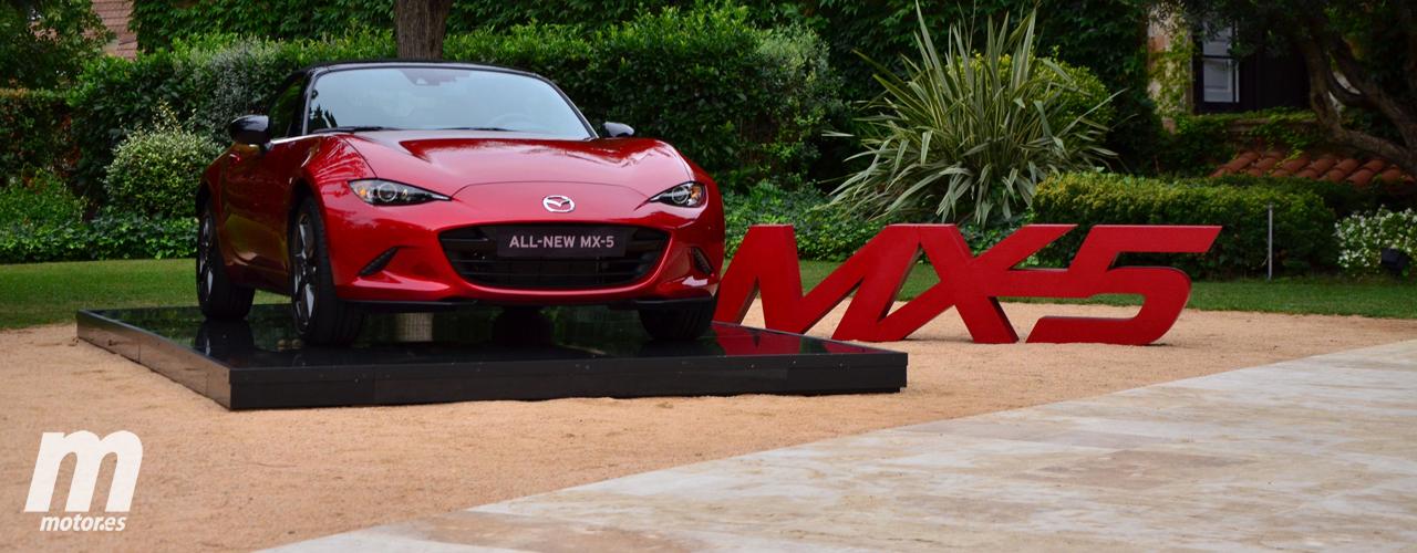 Mazda MX-5 (ND), presentación: Motores, equipamiento y precio