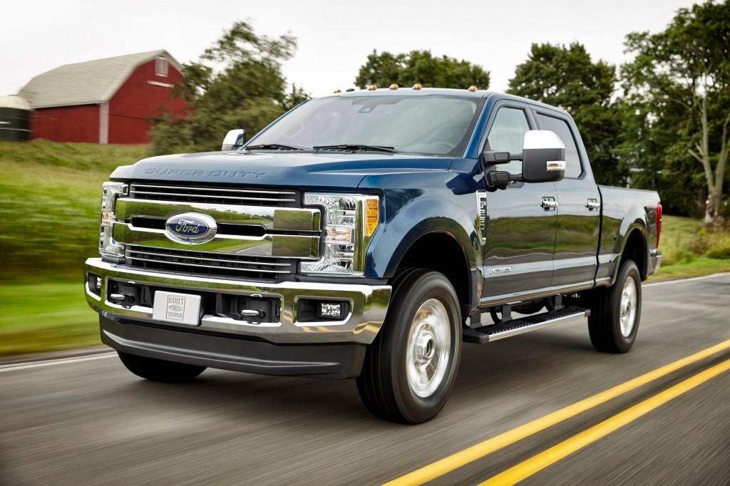 Las mulas de carga americanas, las Ford F Super Duty, rejuvenecen