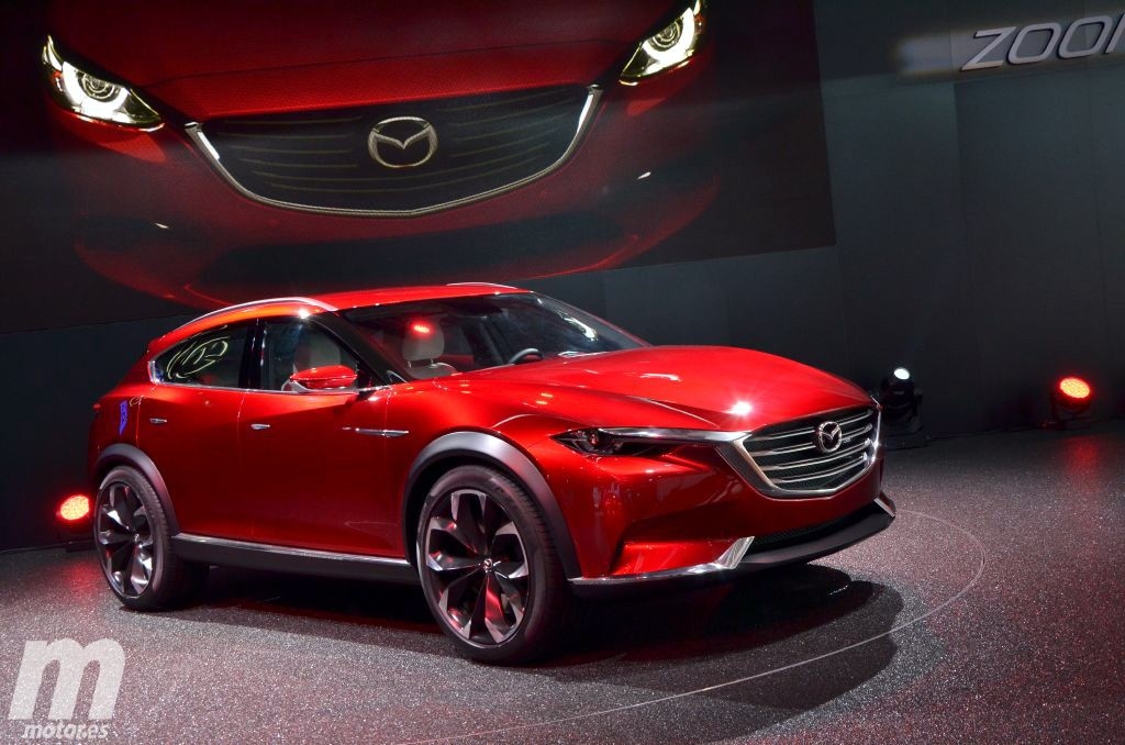 Mazda Koeru, adelantándonos las líneas del futuro CX-7