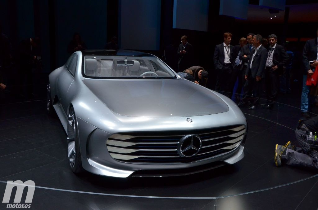 Mercedes IAA Concept, la aerodinámica del futuro se presenta en Frankfurt