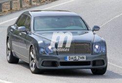 Bentley Mulsanne 2016, primeras fotos del facelift