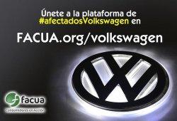 FACUA comienza su campaña a favor de los #afectadosVolkswagen