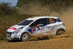 Los pupilos de Peugeot España en el Rally de Catalunya