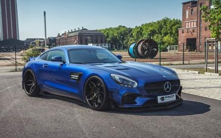 Mercedes-AMG GT, más ancho y musculoso gracias a Prior Design