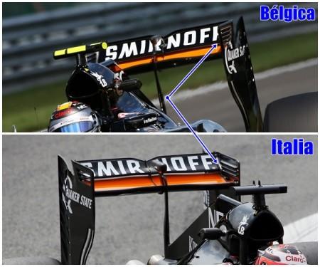 Los detalles técnicos del GP de Italia