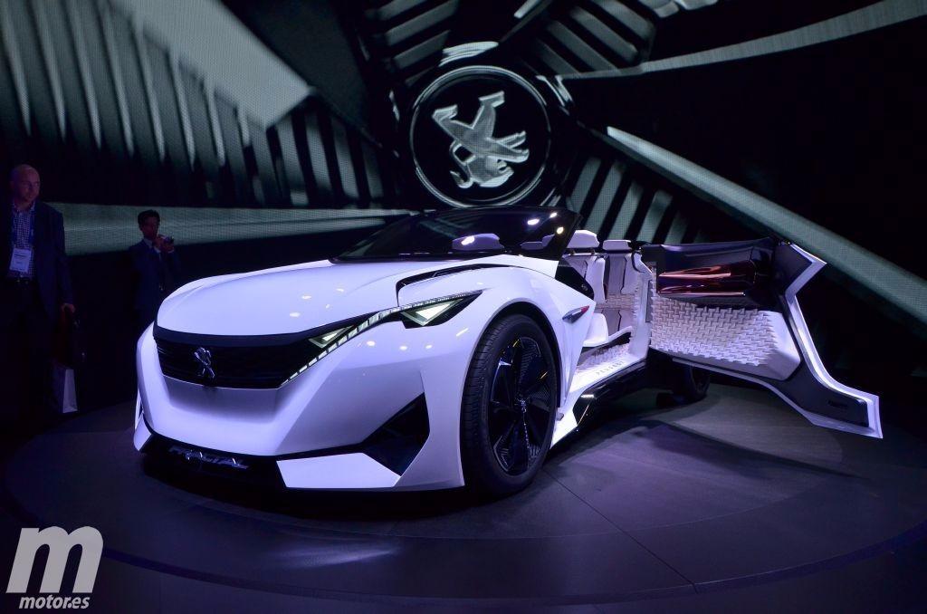 Peugeot Fractal Concept, es pequeño, es eléctrico y es impresionante
