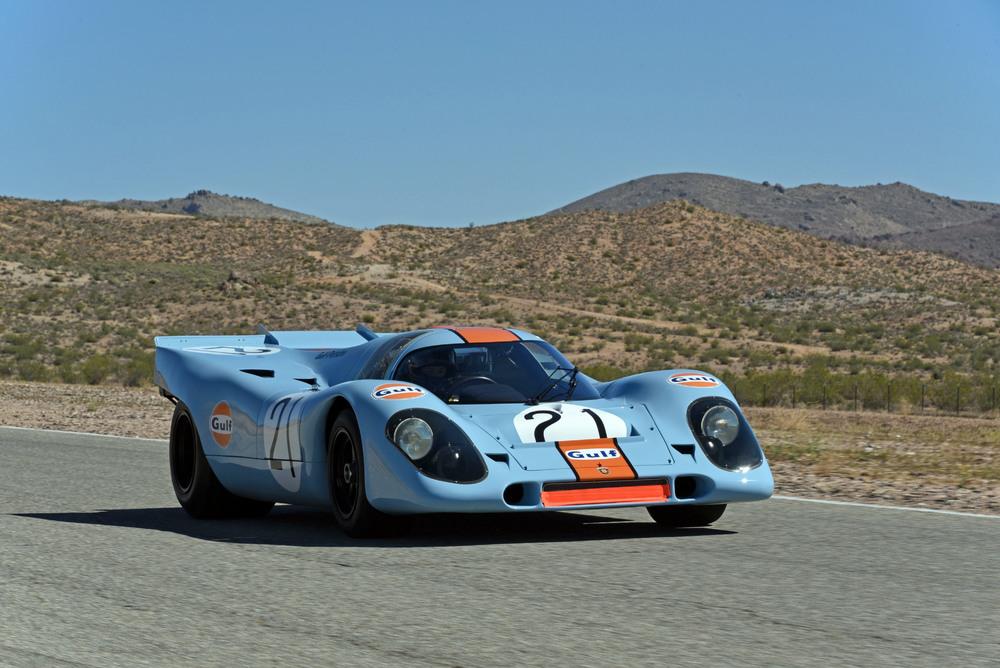 Un Porsche 917k de 1971 vuelve a la pista 40 años después