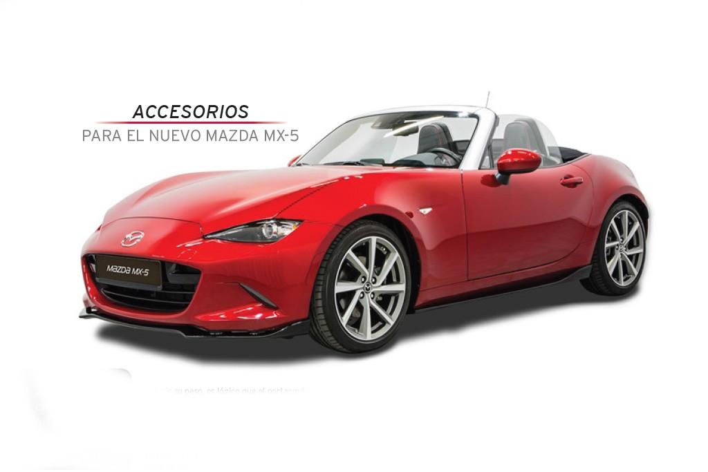 Precios para España: Accesorios originales para el nuevo Mazda MX-5