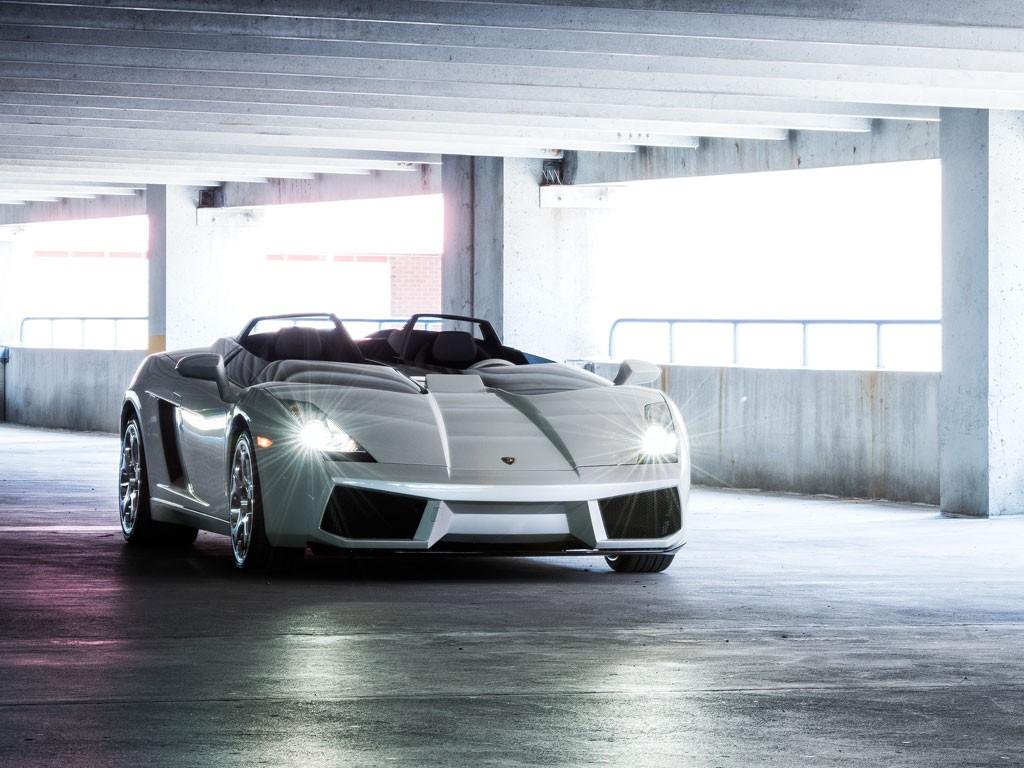 Sale a subasta el único Lamborghini Gallardo Concept S del mundo