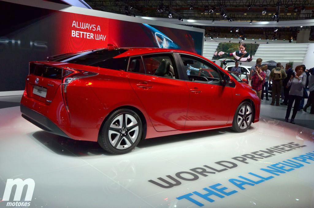 Toyota Prius 2016, nueva imagen, máxima eficiencia