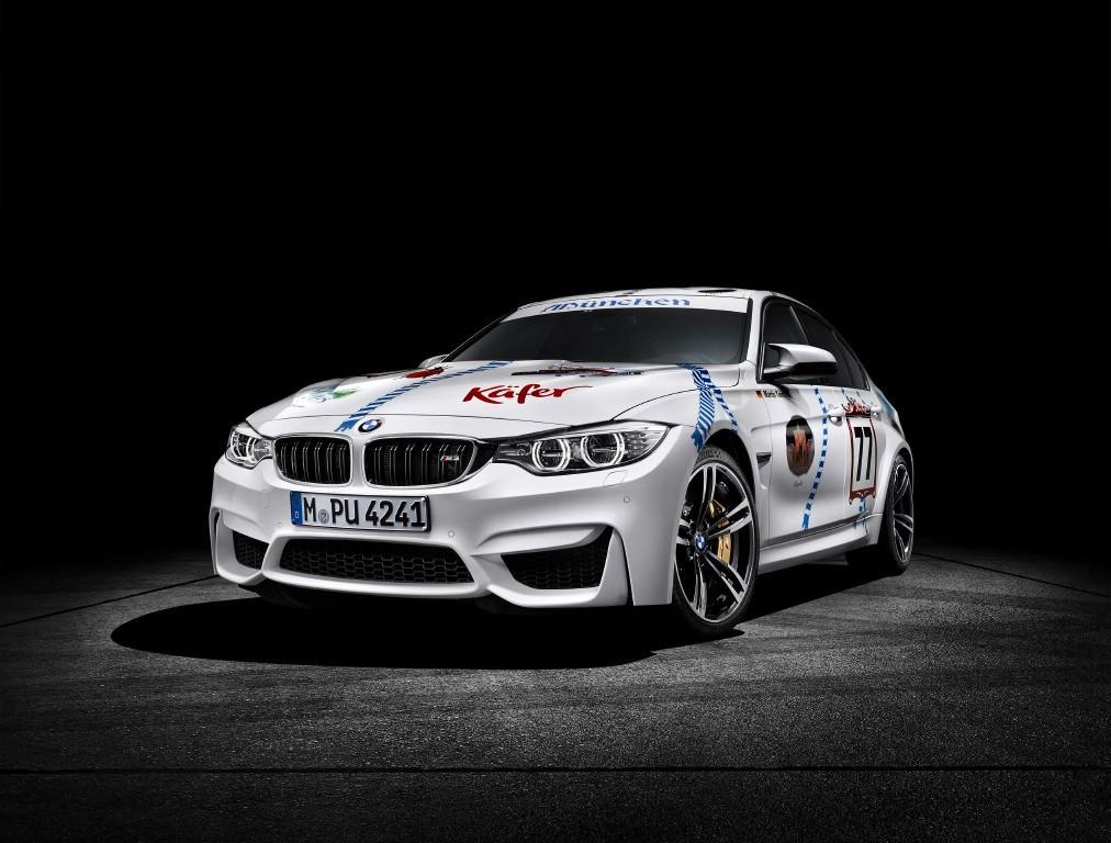Un BMW M3 muy fiestero celebrará el Oktoberfest