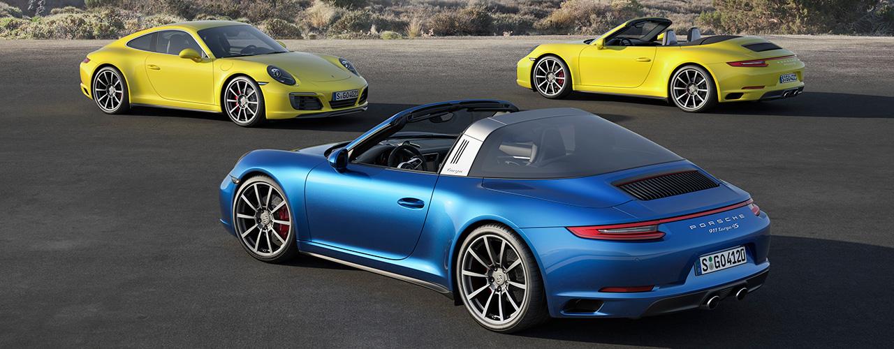 Nuevos Porsche 911 Carrera 4 y Porsche 911 Targa 4, la familia crece