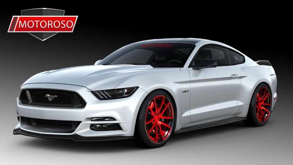 Ocho llamativos Ford Mustang preparados, en el SEMA Show 2015