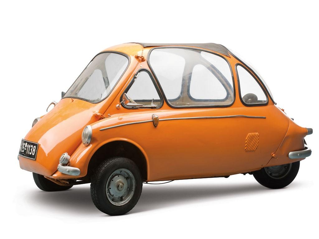 Heinkel Kabine, el Isetta mejorado que no quería BMW
