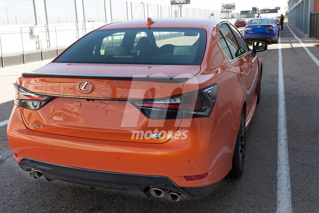 Exclusiva: Así es el Lexus GS F en naranja
