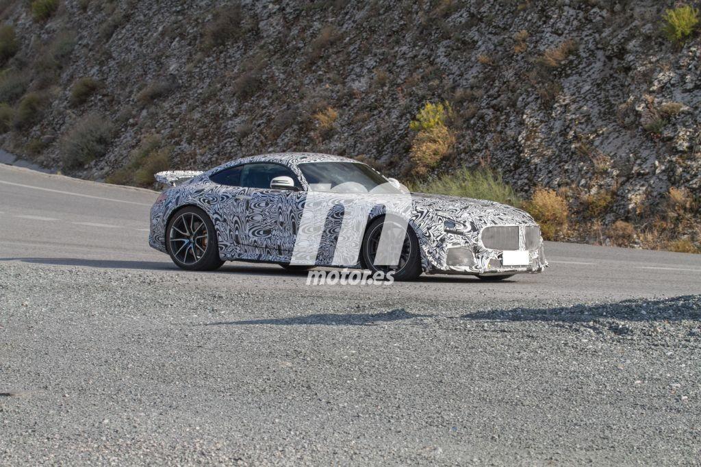 El Mercedes AMG GT Black Series se pasea por el sur de España