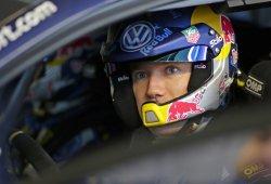Sébastien Ogier primer líder del Rally RACC en Barcelona