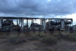 Salen ardiendo cuatro coches de Floyd Mayweather