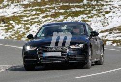 Pillada la mula de chasis del Audi A7 2017