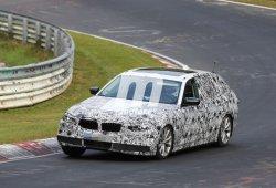 BMW Serie 5 Touring 2017, de pruebas en Nürburgring