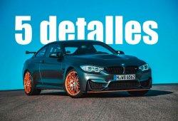 El BMW M4 GTS: 5 detalles de la nueva leyenda