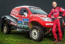 Christian Lavieille ficha por el Renault Duster Dakar Team