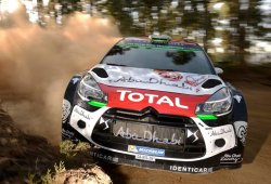 Citroën prueba el DS3 WRC de 2016 en Portugal
