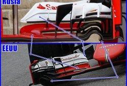 Los detalles técnicos del GP de Estados Unidos de Fórmula 1