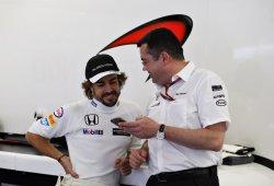 "Fernando Alonso: ""Tratamos de minimizar las vueltas hoy"""
