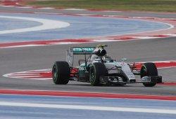 Rosberg se lleva la pole en la clasificación acortada de Austin