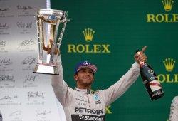 Hamilton gana el tricampeonato en una trepidante carrera en Austin