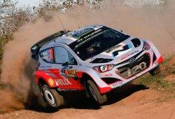 Hayden Paddon manda en el shakedown del Rally RACC