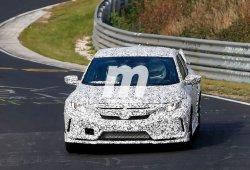 El Honda Civic Sedán Type R inicia su marcha en Nürburgring