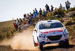 José Antonio Suárez se doctora en la 208 Rally Cup