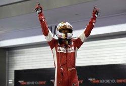 La historia tras el dedo de Sebastian Vettel