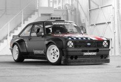 Ken Block ya tiene nuevo coche para sus Gymkhanas, un Ford Escort Mk2