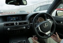 Lexus GS Highway Mate, el coche autónomo de Toyota será funcional en 2020