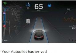 Llega el piloto automático de Tesla