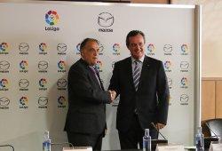 Mazda se convierte en uno de los patrocinadores oficiales de la Liga de fútbol
