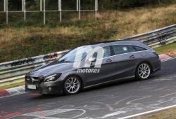 Mercedes CLA Shooting Brake 2017, la renovación está más cerca