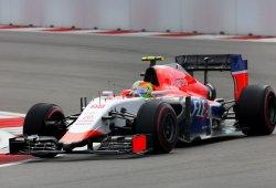 Merhi superó a Stevens en su penúltima carrera pese a la inactividad