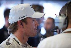 Rosberg achaca al viento su salida de pista en Austin