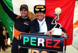 Sergio Pérez devolvió a Force India al podio año y medio después