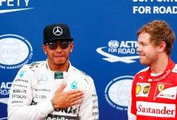 Vettel recibirá diez posiciones de sanción; Hamilton se relame