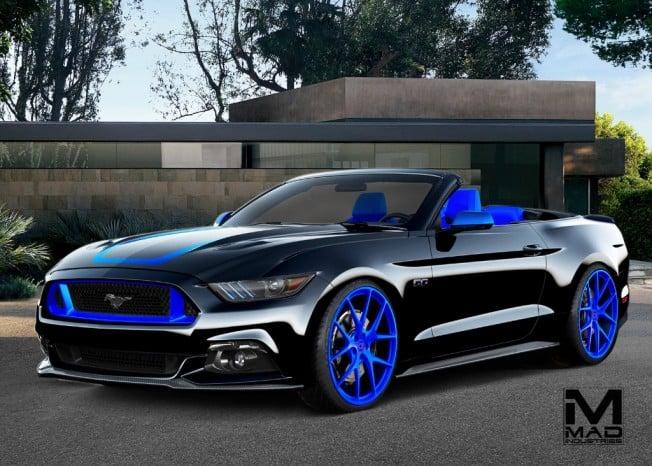Ocho Llamativos Ford Mustang Preparados En El Sema Show