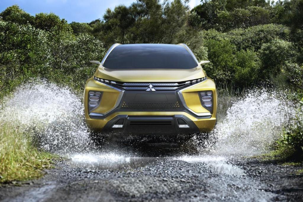 Mitsubishi eX Concept, un SUV eléctrico que llegará a la producción