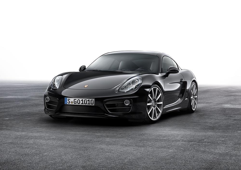 Porsche Cayman Black Edition, todo al negro